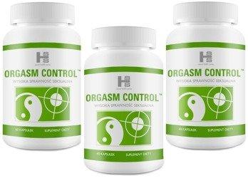 3x Orgasm Control (180 tabletek) - tabletki opóźniające wytrysk