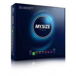 MY.SIZE 47 Dopasowane prezerwatywy - 36 szt