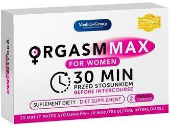 Orgasm Max for Women - 2 kapsułki na orgazm