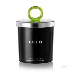 Świeca do masażu - Lelo Snow Pear & Cedarwood