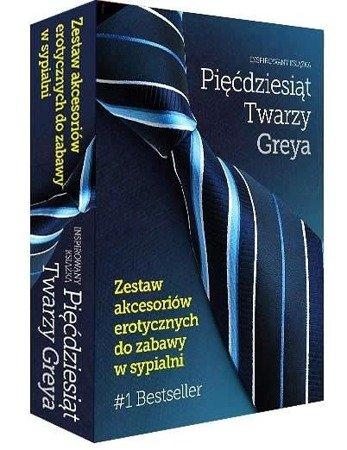 Pięćdziesiąt Twarzy Greya - zestaw akcesoriów erotycznych