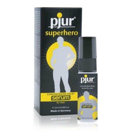 Pjur - Superhero delay 20 ml - serum opóźniające wytrysk