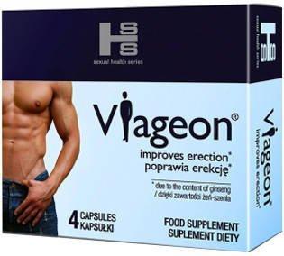 Viageon - 4 tabletki na potencję i długi sex KRÓTKI TERMIN 05/2021